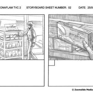 Sonaflam - TV Commercial 2 - Storyboard 2