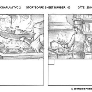 Sonaflam - TV Commercial 2 - Storyboard 3
