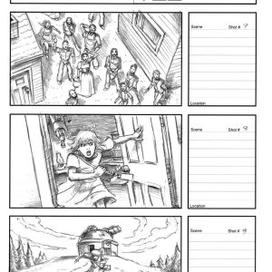 Starboy - Eternity music video - Storyboard 3
