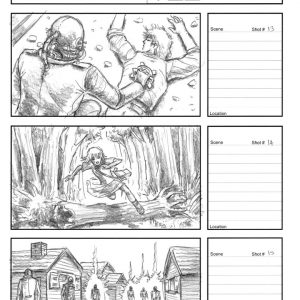 Starboy - Eternity music video - Storyboard 5