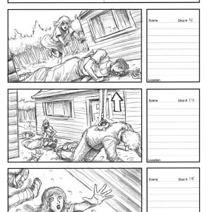 Starboy - Eternity music video - Storyboard 6