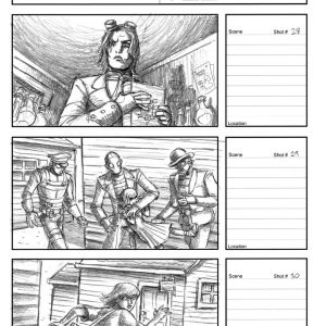 Starboy - Eternity music video - Storyboard 10