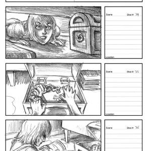 Starboy - Eternity music video - Storyboard 12
